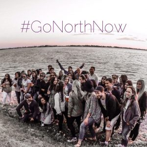 photo of the North team with #GoNorthNow