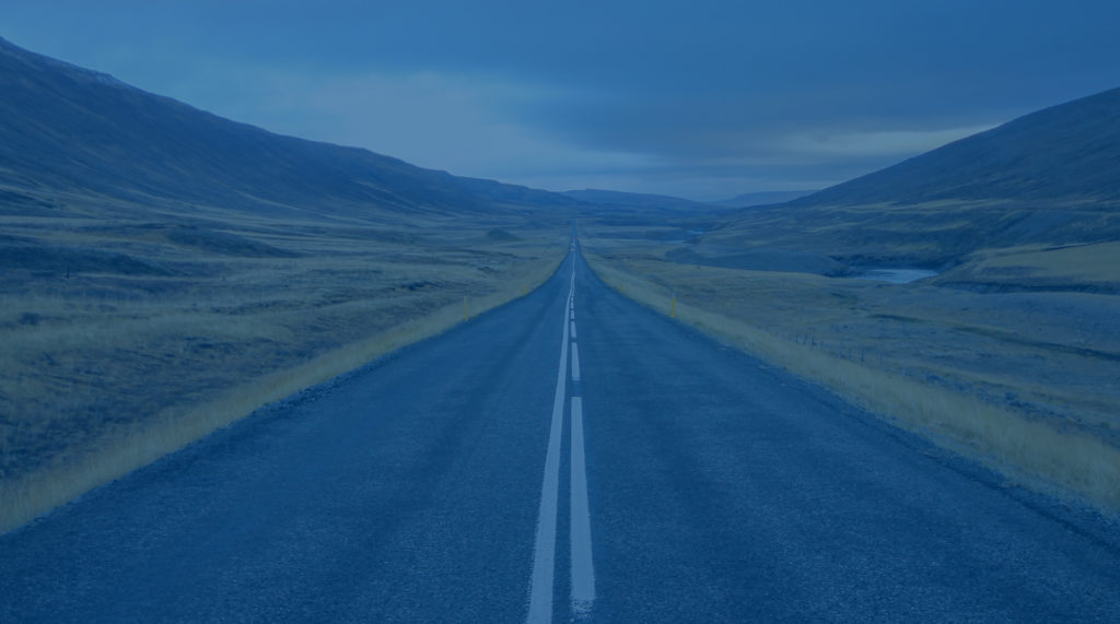 Image of road heading off into the distance
